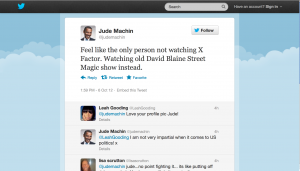 Leah Gooding approves of Jude Machin's Obama Avatar